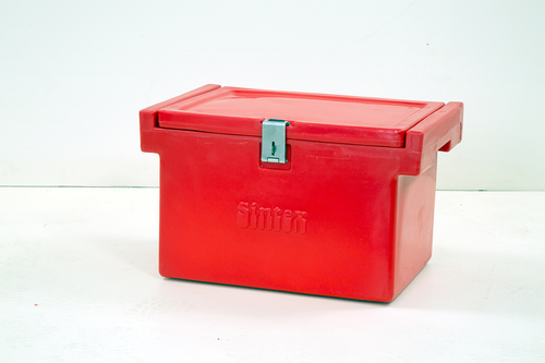 Red Plastic Insulated Boxes