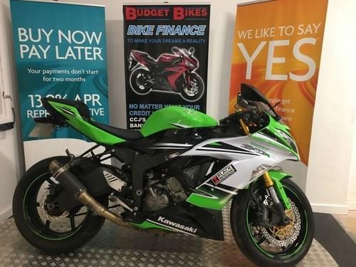 New Ninja ZX 6R Motorcycle (Kawasaki)