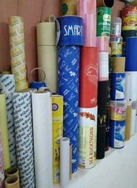 Decorative Tubes Wrapping Paper
