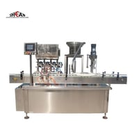 Small Vial Plastic and Glass Bottle Filling Machine