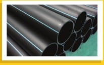 Black Corrosion Resistance Hdpe Pipe