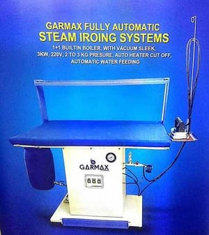 Fully Automatic Steam Ironing System (Garmax)