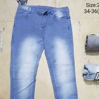 Mens Knitted Cotton Jeans