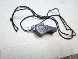 Security Guard Plastic Sports Whistle