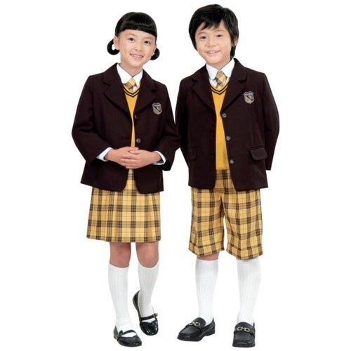 Cotton School Dresses Set