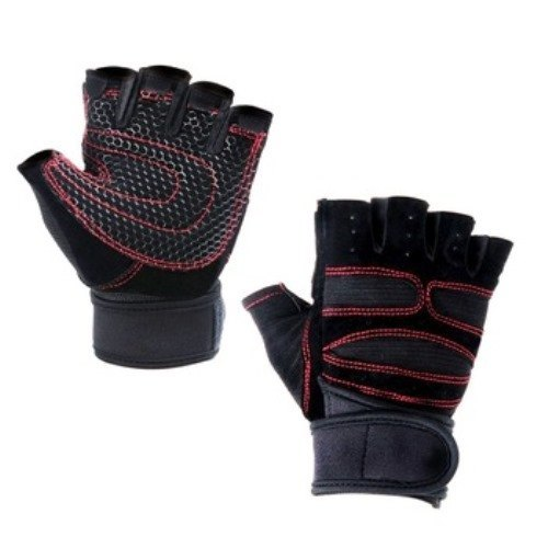 Customized Leather Fitness Gloves