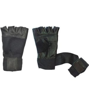 Leather Weight Lifting Gloves