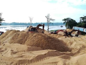 Malaysia River Sand For Construction Used