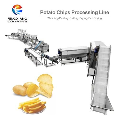 Automatic Potato Chip Production Line