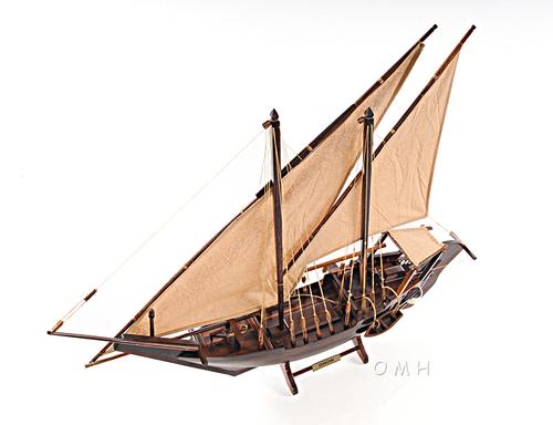 Dhow Medium L77 Wooden Ship Model