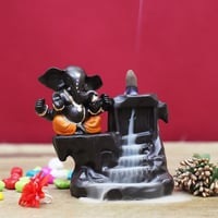 Lord Ganesha Statue Incense Cone Holder