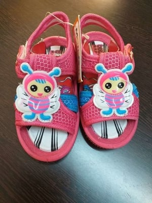 Pink Color Kids Slippers