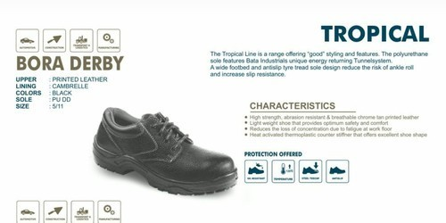 Bora Derby Safety Shoes (BATA)