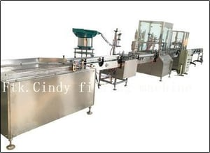Canned Oxygen Portable Canister Full Automatic Filling Machine