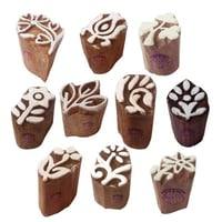 Wooden Printing Blocks Pottery Stamps