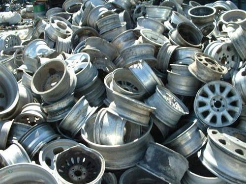 Aluminum Car Wheel Rims Scrap