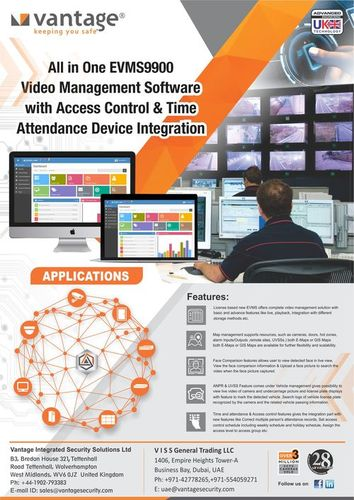 Evms9900 Video Management Software With Access Control And Time Attendance Device Integration