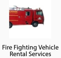 Foam Fire Vehicle Rental Service