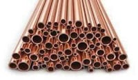 Round Shape Copper Pipes