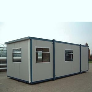 Steel and PVC Body Fabricated Portable Cabin