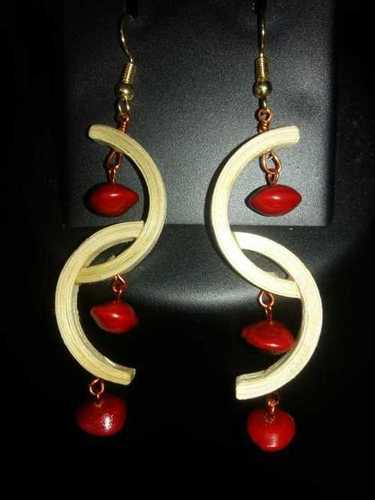 Bamboo Earring Gender: Women