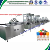 Fully Automatic Aerosol Can Filling Machine for Spray Paint