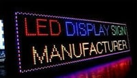 Low Power Consume LED Display Board