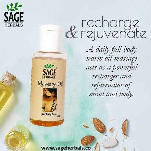 Massage Oil For Body Care