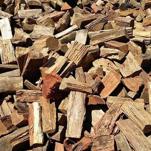 Natural Hard Fire Wood High Combustion Efficiency