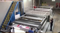 Thieme Screen Printing Machine Mod 5030- 5 Colors