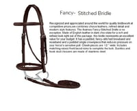 English Leather Horse Bridle