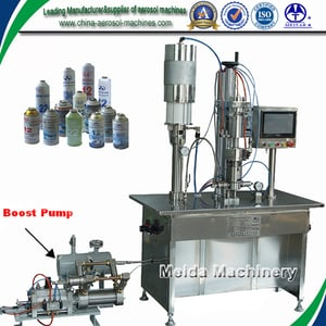 Semi-Automatic R134a Filling Machine with PLC