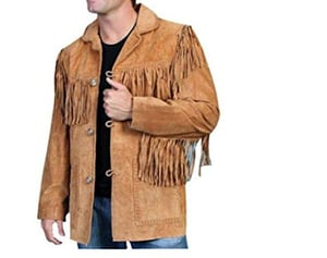 Western Style Suede Genuine Leather Jackets