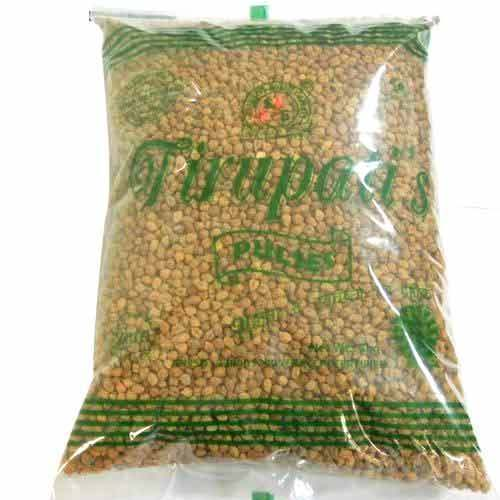 Packed Organic Black Chickpea