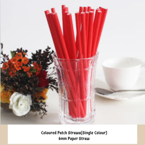 Coloured Paper Straw Application: For Drinking Cold Beverages