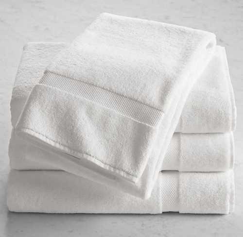 Cotton White Bath Towel