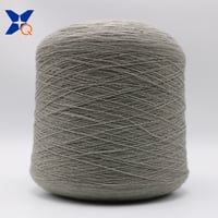 Grey Nm26, 2plies 15% Stainless Steel Fiber Blended With 85% Bulky Acrylic Fiber