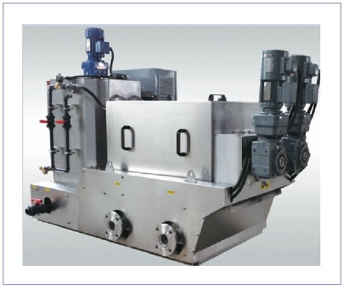 ECOH Volute Screw Sludge Dewatering Machine