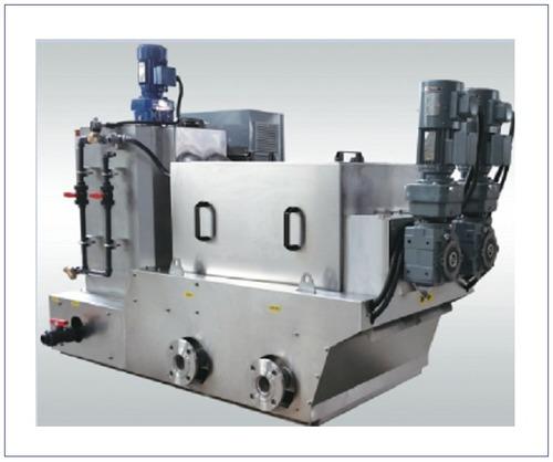 ECOH Volute Screw Sludge Dewatering Machine