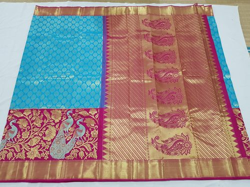 fa5a07e094 Kanchipuram Silk Sarees In Kanchipuram, Tamil Nadu - Dealers & Traders