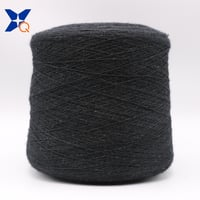Nm26/2plies 20% SS Staple Fiber Blended with 65% Cashmere wool 15% NY Fiber Conductive Yarn