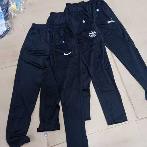 Black Color Mens Trackpants