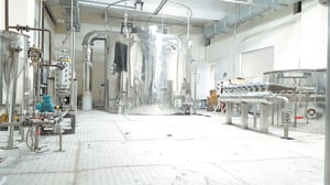 Plant Scale Spray Drying System