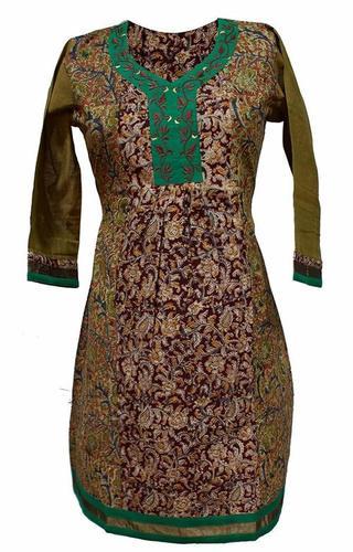Designer Pure Cotton Kurtis