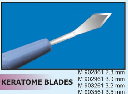Ophthalmic Micro Surgical Knife Certifications: Iso 13485