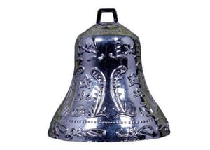 Decorative Silver Colour Hanging Bell