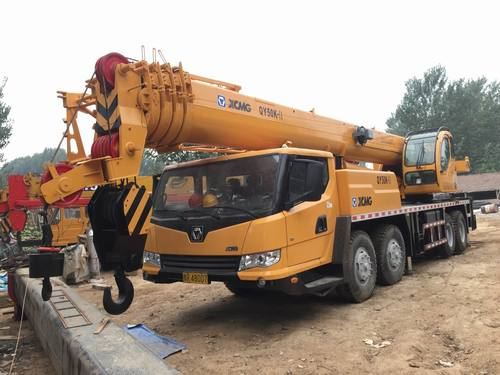 Mobile Truck Crane (Xcmg 50 Ton Qy50K) Application: Large Project Architecture