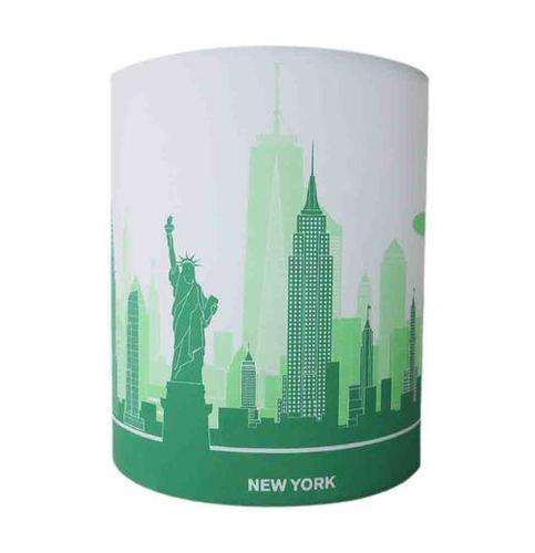 Green Plastic Designer Lamp Shade
