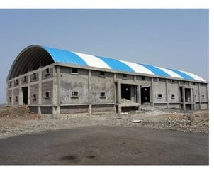 Self Supported Arch Roofing