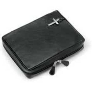Bible Leather Cover (Black)